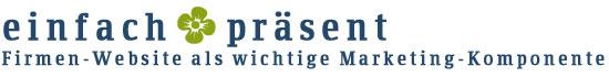 Logo: einfach präsent
